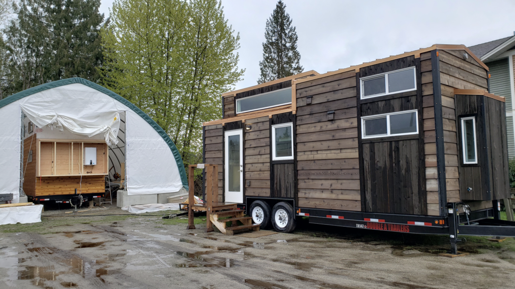 Builder tries to find support for tiny-home project in West Howe Sound